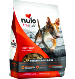 Nulo Nulo Grain-Free Dog Freeze-Dried Raw Turkey 5 oz
