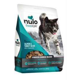 Nulo Nulo Grain-Free Dog Freeze-Dried Raw Salmon & Turkey 5 oz