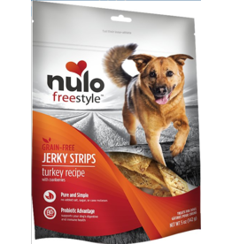Nulo Nulo Freestyle Grain Free Jerky Strips Turkey w/ Cranberries 5 oz