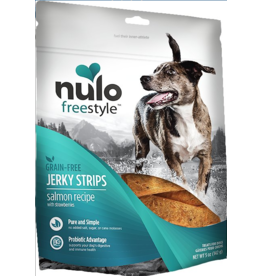 Nulo Nulo Freestyle Grain Free Jerky Strips Salmon w/ Strawberries 5 oz