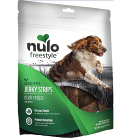 Nulo Nulo Freestyle Grain Free Jerky Strips Duck w/ Plums 5 oz