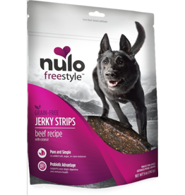 Nulo Nulo Freestyle Grain Free Jerky Strips Beef w/ Coconut 5 oz
