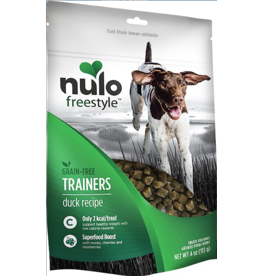 Nulo Nulo Freestyle Grain Free Treats Duck Trainers 4 oz