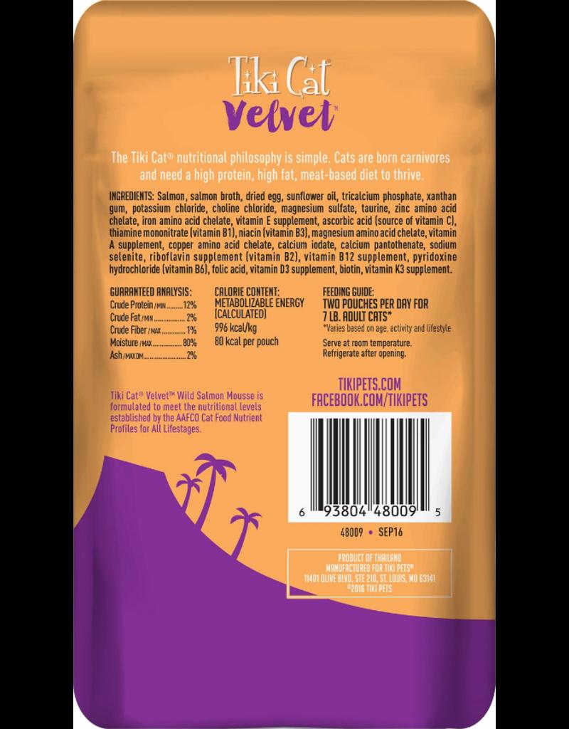 Tiki Tiki Cat Velvet Mousse Salmon 2.8 oz single