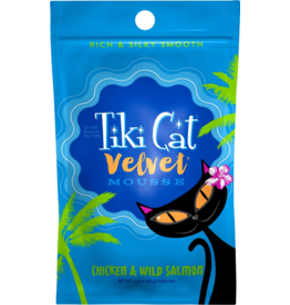 Tiki Cat Tiki Cat Velvet Mousse Chicken & Wild Salmon 2.8 oz single