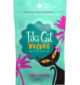 Tiki Tiki Cat Velvet Mousse Tuna & Chicken 2.8 oz single