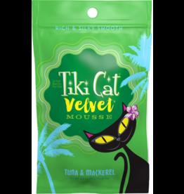 Tiki Cat Velvet Mousse Tuna & Mackerel 2.8 oz single
