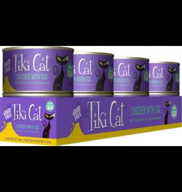 Tiki Cat Tiki Cat Canned Cat Food Koolina Luau (Chicken w/ Egg) 6 oz CASE