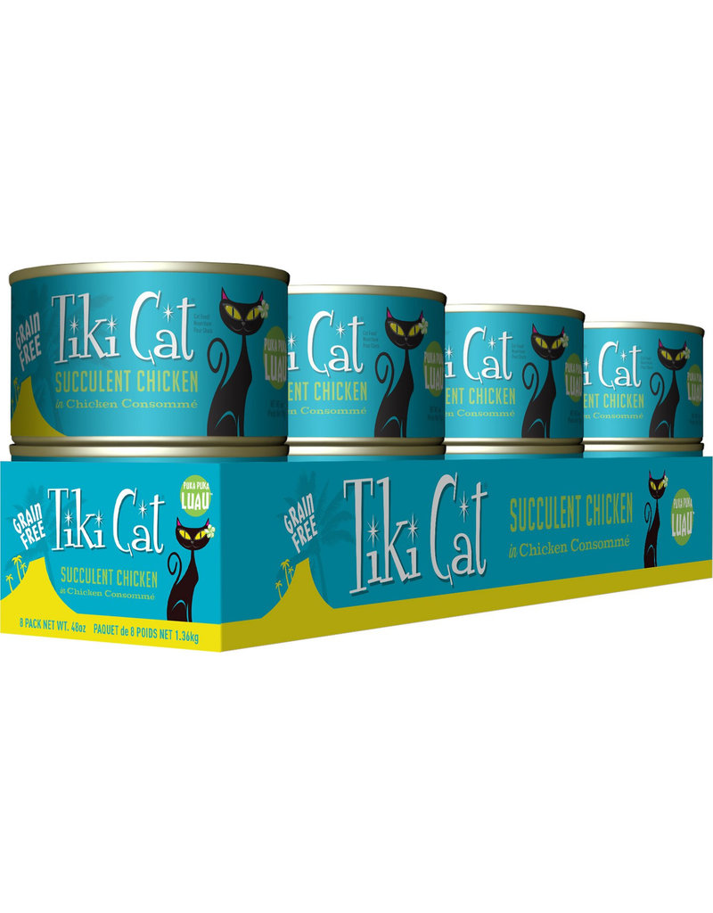 Tiki Tiki Cat Canned Cat Food Puka Puka Luau (Succulent Chicken) 6 oz single