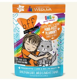 Weruva BFF OMG! Cat Food Pouches | Purr-fect Plannin'! 2.8 oz single