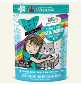 Weruva BFF OMG! Cat Food Pouches | Seeya Sooner! 2.8 oz single