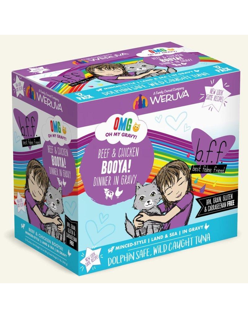 Weruva BFF OMG! Cat Food Pouches | Booya! 2.8 oz single