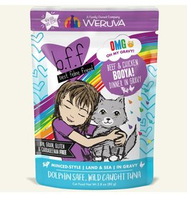 Weruva BFF OMG! Cat Food Pouches | Booya! 2.8 oz single
