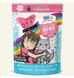 Weruva Weruva BFF OMG! Cat Food Pouch | Date Nite! Duck & Salmon 2.8 oz single