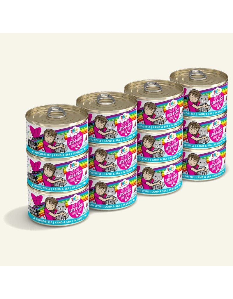 Weruva BFF OMG! Canned Cat Food CASE Lots O Luck! 2.8 oz