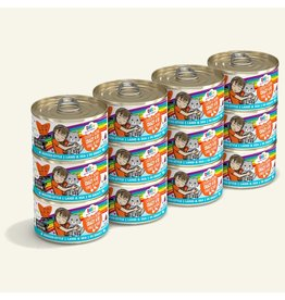 Weruva BFF OMG! Canned Cat Food CASE Crazy 4 U! 2.8 oz