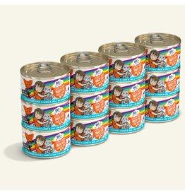 Weruva Weruva BFF OMG! Canned Cat Food | Crazy 4 U! Chicken & Salmon 2.8 oz CASE
