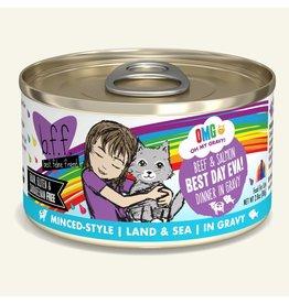 Weruva Weruva BFF OMG! Cat Food Cans   Best Day Eva! Beef & Salmon 2.8 oz