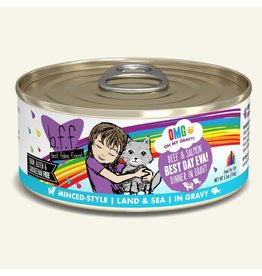 Weruva Weruva BFF OMG! Canned Cat Food   Beef & Salmon Best Day Eva! 5.5 oz single