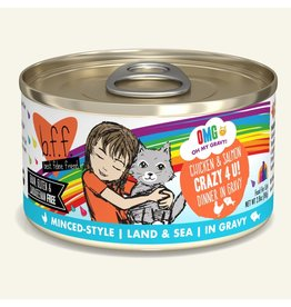 Weruva BFF OMG! Canned Cat Food Crazy 4 U! 2.8 oz single