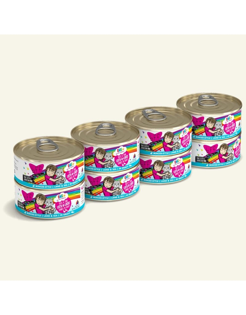 Weruva BFF OMG! Canned Cat Food Lots O Luck! 5.5 oz single