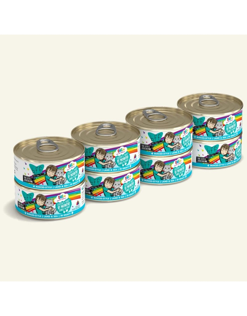 Weruva BFF OMG! Canned Cat Food QT Patootie! 5.5 oz single