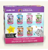 Weruva BFF OMG! Cat Food Pouches Rainbow A Gogo Variety Pack 3 oz