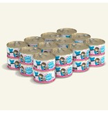 Weruva Best Feline Friend Canned Cat Food CASE Tuna & Shrimp Sweethearts 3 oz