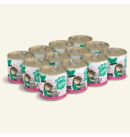 Weruva Best Feline Friend Canned Cat Food CASE Tuna & Pumpkin Valentine 10 oz