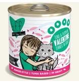 Weruva Best Feline Friend Canned Cat Food CASE Tuna & Pumpkin Valentine 10 oz