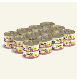 Weruva Best Feline Friend Canned Cat Food CASE of 24 Tuna & Chicken 4Eva 5.5 oz