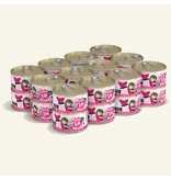 Weruva Best Feline Friend Canned Cat Food CASE Tuna & Bonito Be Mine 3 oz