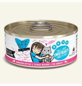 Weruva Best Feline Friend Canned Cat Food Tuna & Shrimp Sweethearts 5.5 oz single