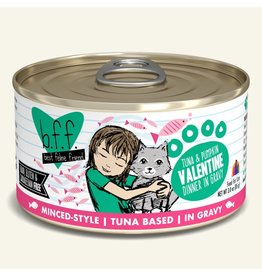 Weruva Best Feline Friend Canned Cat Food Tuna & Pumpkin Valentine 3 oz single