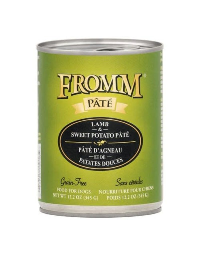Fromm Fromm Gold Canned Dog Food Lamb & Sweet Potato Pate 12.2 oz single