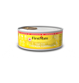 Firstmate Firstmate LID Canned Cat Food CASE Free Run Chicken 5.5 oz