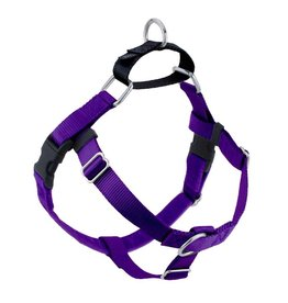"2 hounds Design 2 Hounds Design Freedom No-Pull 1"" Harness Purple Extra Large (XL)"