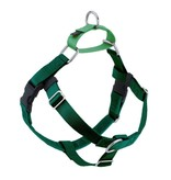 """2 hounds Design 2 Hounds Design Freedom No-Pull Harness 1"""" Large Kelly Green"""