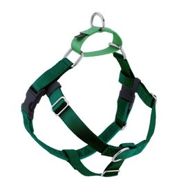 "2 hounds Design 2 Hounds Design Freedom No-Pull 1"" Harness Kelly Green Extra Large (XL)"