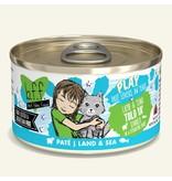 Weruva Best Feline Friend PLAY Land & Sea Pate | CASE Lamb & Tuna Told Ya' Dinner in Puree 2.8 oz