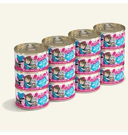 Weruva Best Feline Friend PLAY Land & Sea Pate | CASE Tuna & Chicken Check Please Dinner in Puree 2.8 oz