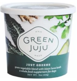 Green Juju Green Juju Frozen Wholefood Supplement Just Greens Bison 30 oz CASE (*Frozen Products for Local Delivery or In-Store Pickup Only. *)