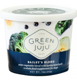 Green Juju Green Juju Frozen Wholefood Supplement Bailey's Blend Turkey 7.5 oz (*Frozen Products for Local Delivery or In-Store Pickup Only. *)