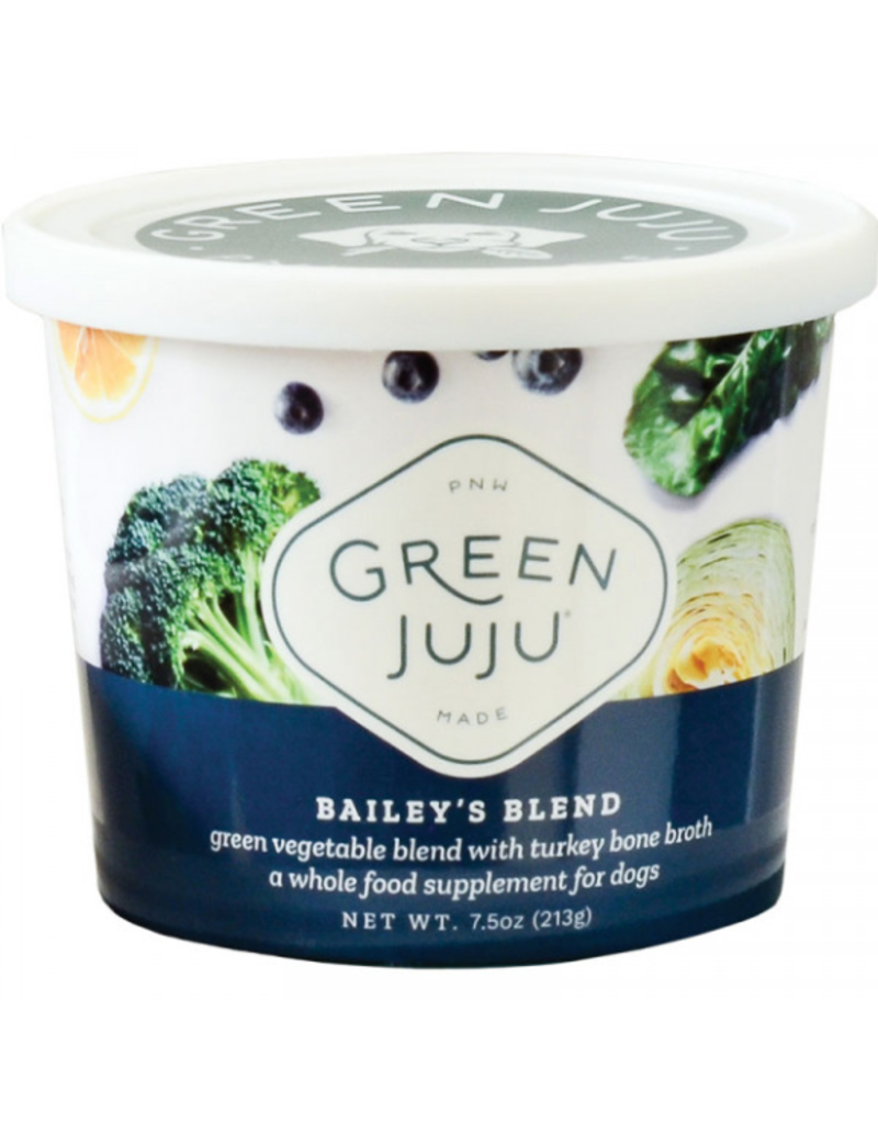 Green Juju Green Juju Frozen Wholefood Supplement Bailey's Blend Turkey 30 oz CASE (*Frozen Products for Local Delivery or In-Store Pickup Only. *)