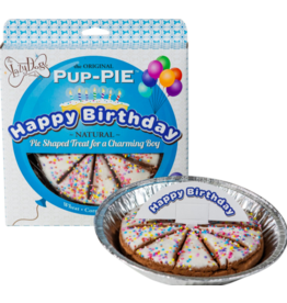 Lazy Dog Cookie Co. Lazy Dog Pup-Pie Dog Treats Happy Birthday Charming Boy 5 oz single