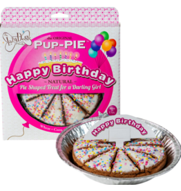 Lazy Dog Cookie Co. Lazy Dog Pup-Pie Dog Treats Happy Birthday Darling Girl 5 oz single