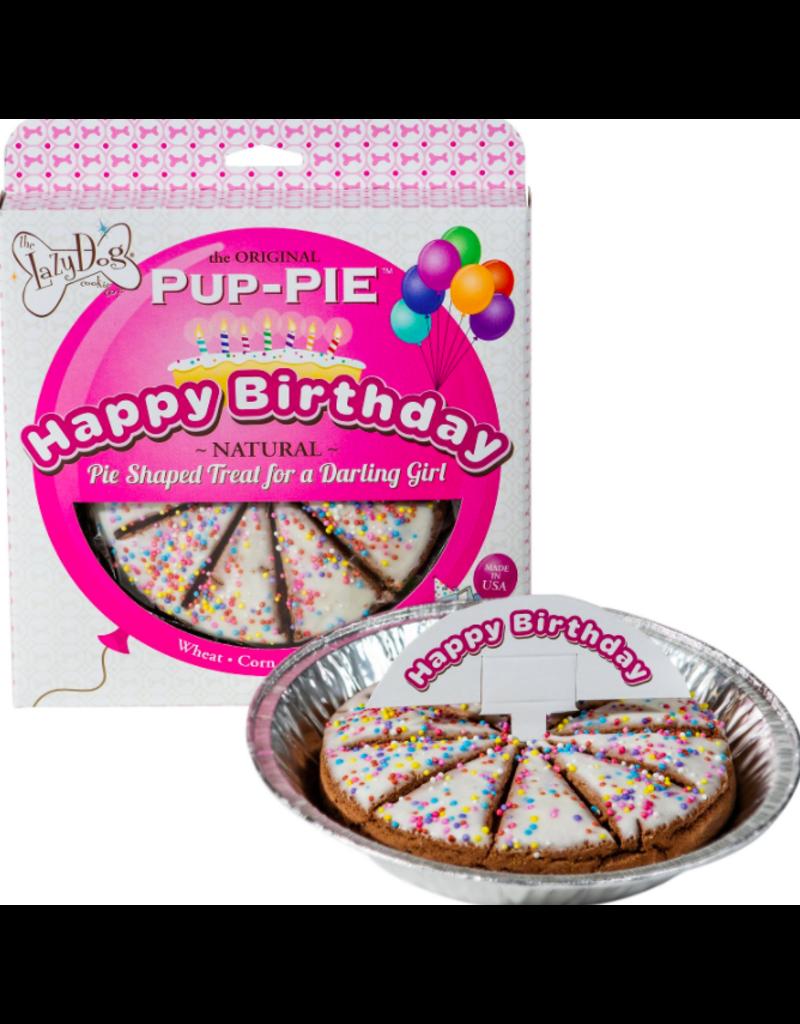 Lazy Dog Cookie Co. Lazy Dog Pup-Pie Dog Treats Happy Birthday Darling Girl 5 oz single