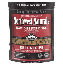 Northwest Naturals Northwest Naturals Frozen Dog Food Beef 6 lb CASE (*Frozen Products for Local Delivery or In-Store Pickup Only. *)