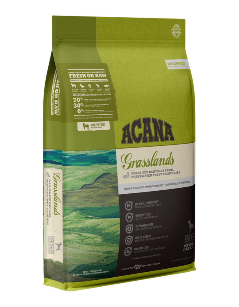 Champion Pet Foods Acana 70/30 Dog Kibble Grasslands 13 lb