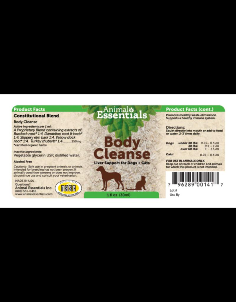 Animal Essentials Animal Essentials Tinctures Body Cleanse 8 oz